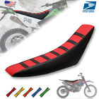 Universal Gripper Soft Motorcycle Seat Cover Rib Skin Rubber Dirt Bike Enduro US