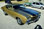 1970 Chevrolet Chevelle SS 396 RESTORED SS 396 4 SPD IN AUTUMN GOLD w/SADDLE INT. PWR STR