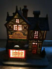 Rare 2010 Lemax Christmas Village Molly's House of Chocolates Bakery Candy Shop