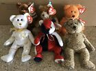 Ty Beanie Babies Lot (6): Italy, Whittle, Pappa, Patriot, '04 Signature,