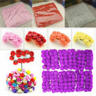 144 288pcs Foam Mini Roses Head Small Flowers Wedding Home Party Decoration