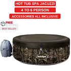 Beautiful Hot Tub Spa Jacuzzi 4 6 Person Accessories All Inclusive Free Shipping