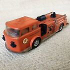 Vintage 1960s Buddy L Pressed Steel Texaco Fire Chief Fire Truck - Made in USA
