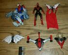 Lot of 2 Vintage 90s Spider Man Action Figures Made By Toy Biz w accessories