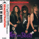CATS IN BOOTS Demonstration (East Meets West) JAPAN CD H28P-20258 1988 OBI