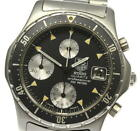 TAG HEUER 2000 series 273.006 Chronograph black Dial Quartz Men's Watch_521665