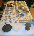 75 Pieces Marine Boat Hardware Lot CLEATS BIMINY POSTS TRAINS HINGES + MORE