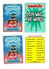 2013 Topps Garbage Pail Kids Holiday Greeting Cards 13