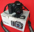 Canon EOS 30D Digital SLR Camera Boxed with EF 35-80 Zoom Lens, Battery pack etc