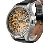 ULYSSE NARDIN Men's Skeleton Wrist Watch Swiss 1920's Vintage Mechanical Cal.15J