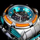 Invicta JT Reserve Bolt Zeus Hall of Fame Swiss Chrono Movt Steel 52mm Watch New