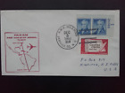 1963 AIR MAIL CIRCULATED COVER PANAM FIRST NON STOP AIRMAIL FLIGHT