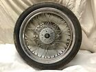 1984 Harley Davidson Sportster 1000 XLH. Front Wheel with Axle