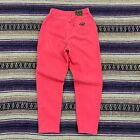 Vtg Levis Native Blue Denim Jeans Size 12 Hot Pink 90s Womens Made In USA Pants