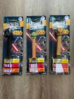 Star Wars Set of Three Pez Dispensers New with Candy 2013 Darth Vader Yoda Rare