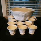 FOOTED CUPS 13 piece EUC