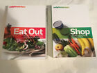 lot WEIGHT WATCHERS 2012 EAT OUT PointsPlus SHOP Lot of 2