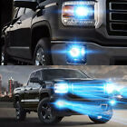 For GMC Sierra 1500 2014 2016 4PC 8000K LED Headlights + Fog Lights Bulbs Kit