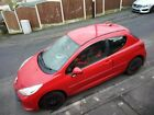 LARGER PHOTOS: 2007 Peugeot 207 3-door coupe 1.4 litre petrol, 12 months MOT, red and sexy!