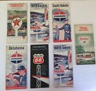 VINTAGE MAPS. LOT OF 7