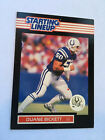 1989   DUANE BICKETT - Kenner Starting Lineup Card - INDIANAPOLIS COLTS-Ex