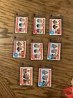 1969 Topps Set Leaders Lot Of Nine YAZ Rose McCovey More