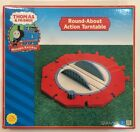 THOMAS & FRIENDS WOODEN RAILWAY ~ ROUND-ABOUT ACTION TURNTABLE-NIB, FREE SHIP