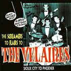 "VELAIRES-SIGNED-AUTOGRAPH CD-BEAR FAMILY RECORDS-VG+ ""THE SCREAMERS-FLAIRS"