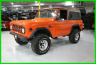 1972 Ford Bronco Convertible 1972 Ford Bronco 2dr 4WD Convertible Hardtop 302ci V8 Manual