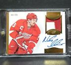 2013-14 PANINI DOMINION HOCKEY - NICKLAS LIDSTROM PATCH AND AUTOGRAPH #88 99!!!