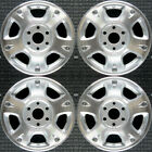 Set 2002 2003 2004 2005 2006 Chevrolet Avalanche 1500 2500 OEM Wheels Rims 5130