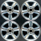 Set 2007 2009 Chevy Avalanche Silverado Suburban Tahoe Polished Wheels Rims 5308