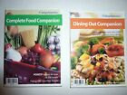 GOOD Set Weight Watchers Complete Food  Dining Out Companion Book Set 2006