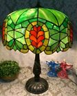 Gorham leaded glass lamp - Handel Tiffany Duffner arts crafts slag art glass era