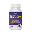 One 1 Leptitox Bottle weight loss supplements (60 Count) DETOX FORMULO Nutrition