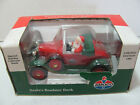 LIBERTY CLASSICS 1992 LTD EDITION DIE CAST AMOCO SANTA'S ROADSTER BANK