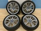 BMW E90 E92 E93 328i 335i 18 M Wheels Spider Spoke Rim Tires Set Staggered OEM