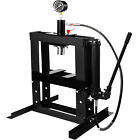 Hydraulic Shop Press Floor Shop Equipment 10 Ton Jack Stand with Hand Pump Gauge