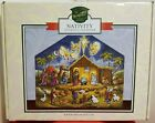 2015 Nativity Advent Calendar Box Wooden Traditions by Byers Choice