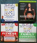 BIGGEST LOSER Book Lot  Jillian Michaels Making The Cut Cookbook Healty Diet 4