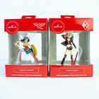 Halmark Wonder Woman Harley Quinn DC Comics Christmas Tree Ornament Decoration