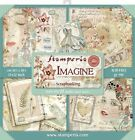 Stamperia Double Sided Paper Pad 12X12 22 Pkg Imagine 22 Designs 1 Each