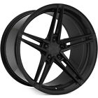 20 ROHANA RFX15 GLOSS BLACK CONCAVE WHEELS RIM FOR BENTLEY CONTINENTAL GT