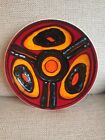 Beautiful Poole Delphis Plate Shape 4 By Shirley Williams 27cm