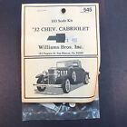 HO Scale 1932 Chevrolet Cabriolet