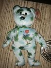 Ty Beanie Baby I LOVE GUAM the Bear (Guam Exclusive) NEW MWMT
