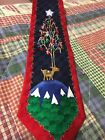 Christmas Tree Presents Ornaments Reindeer Cool Yule Men's Necktie Hallmark