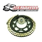 Gas Gas 125 MC Cross 02 Renthal R3 Gold SRS-Ring Chain & JT Sprocket Kit