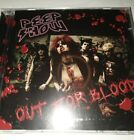 PEEP SHOW - OUT FOR BLOOD CD 2008 NEW  rare uk indie sleaze metal glam hair