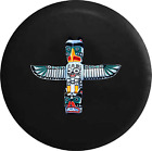 Spare Tire Cover Totem Pole Spirit Animals Native American God JK Accessories
